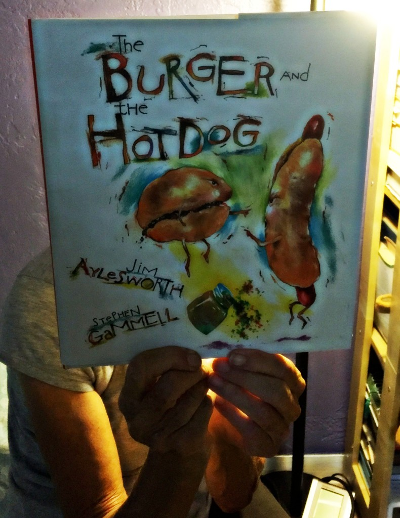 Who doesn't like burgers and hot dogs? And pretty pictures of them?